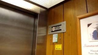 Old DEVE Hydraulic elevator/lift at Hotel Savoy in Mariehamn, Åland Islands, Finland