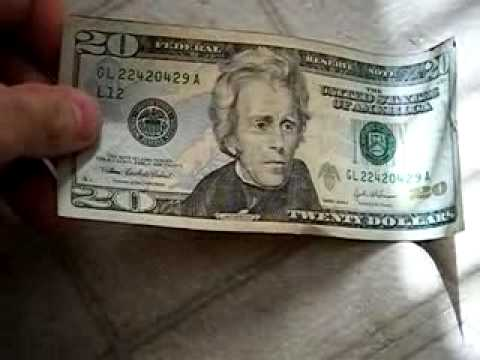 Paper A Spot Youtube - Bill American How To Counterfeit
