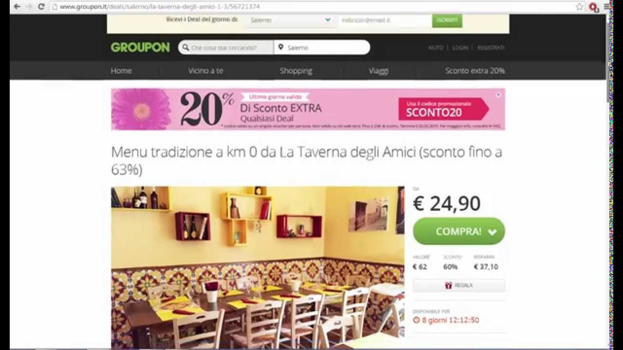 Groupon Regalo Come Funziona.Faq