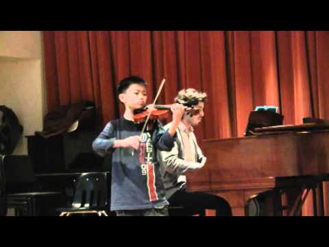 Bach Violin Concerto No. 1 in A Minor, 1st movement, Suzuki book 7.