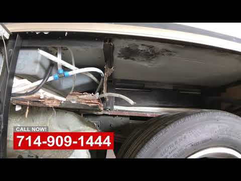 RV Tire Blow Out Repair