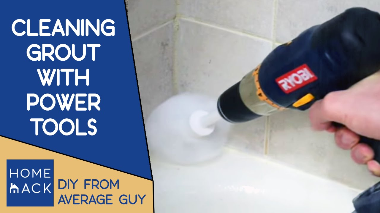 clean grout lines | how to clean grout on tile floor - youtube