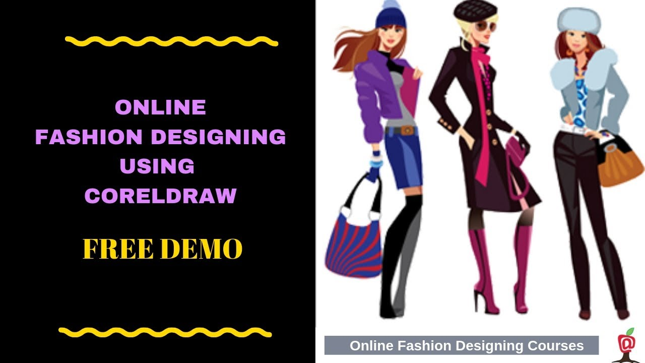 Online Fashion Designing Course Cad Free Demo Class Introduction 01 Youtube