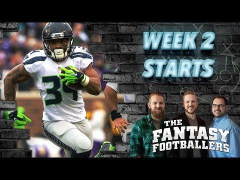 Fantasy Football 2016 - Starts of the Week, Week 2 Matchups, News - Ep. #265