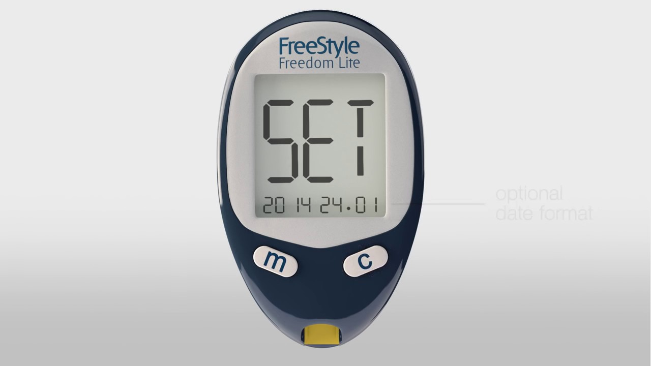 Abbott Freedom Lite freestyle freedom lite system set up your meter and perform a blood glucose  test