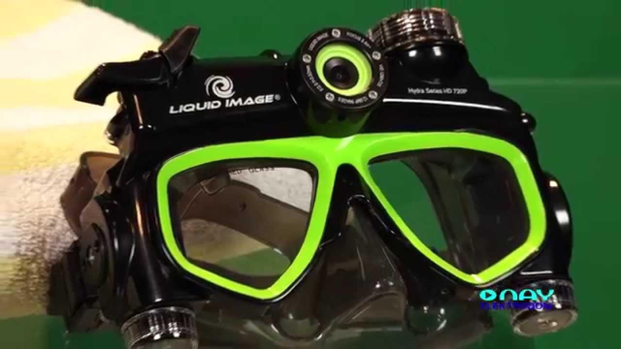 Potápačské okuliare s kamerou LIQUID IMAGE HYDRA SERIES HD ...