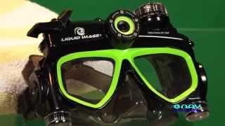Potápačské okuliare s kamerou LIQUID IMAGE HYDRA SERIES HD 720p 305G