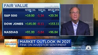 BlackRock's Larry Fink: There's a lot of cash ready to go to work in the stock market