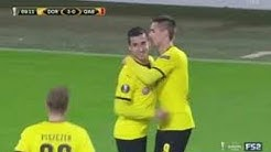 Borussia Dortmund vs Qabala (4-0) 5-11- 2015 Europa League اهداف بوروسيا دورتموند و غالبالا