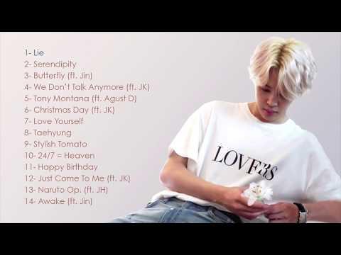 BTS Jimin (지민) Song/Singing Compilation