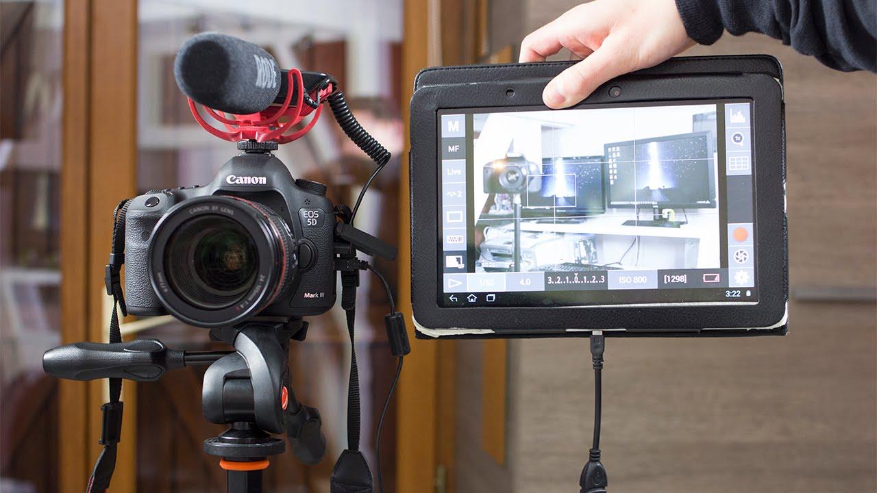 Utiliser sa tablette comme cran externe pour reflex for Photo ecran tablette