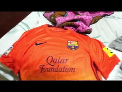 FC Barcelona 2012-13 Away Jersey