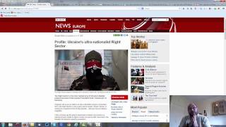 Ukraine The right sector and media