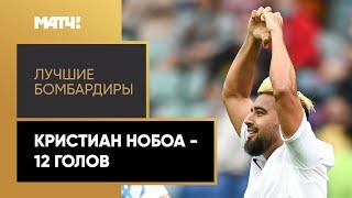 Кристиан Нобоа Лучшие бомбардиры Тинькофф РПЛ 2020 21
