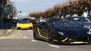 SUPERCARS rolling in GENEVA!!!
