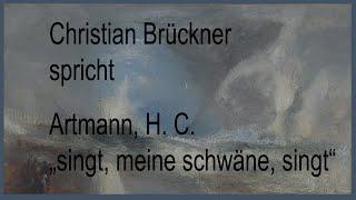 """Artmann, H. C. – """"singt, meine schwäne, singt"""" (1969)"""