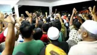 20110325 Kekecohan ketika Polis iring Anwar keluar dari ceramah