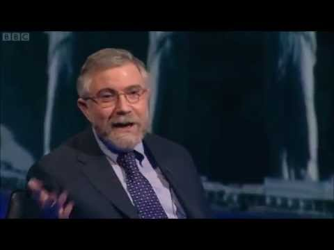 Paul Krugman Debates 2 British Austerians On BBC Newsnight