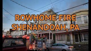 House fire - Shenandoah, Pa - 06/27/2019