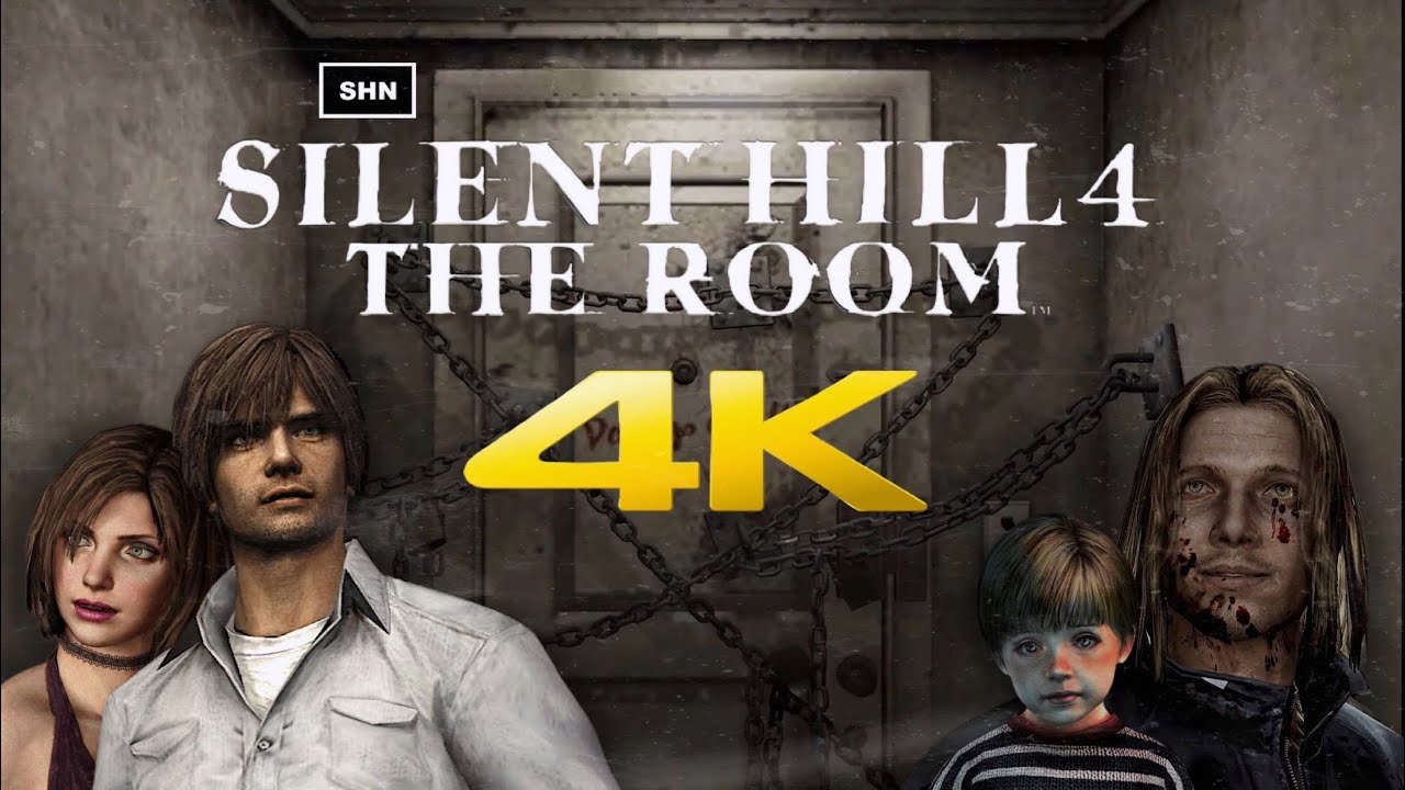 Silent Hill 4 The Room 4k 60fps Walkthrough Longplay Gameplay