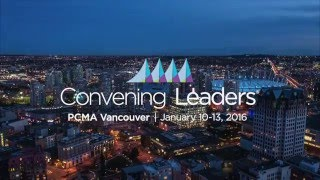 PCMA Convening Leaders 2016 in Vancouver