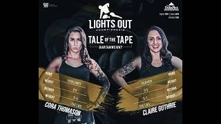 """MMA Fight - GUTHRIE VS THOMASON - Lights Out Championship """"The Beginning"""""""
