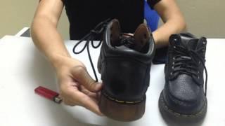 Kiểm Tra Độ Dẻo & Khả Năng Chịu Lửa Của Giày