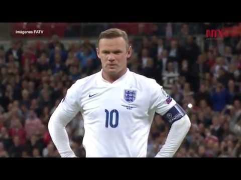 Wayne Rooney anuncia su retiro del futbol internacional