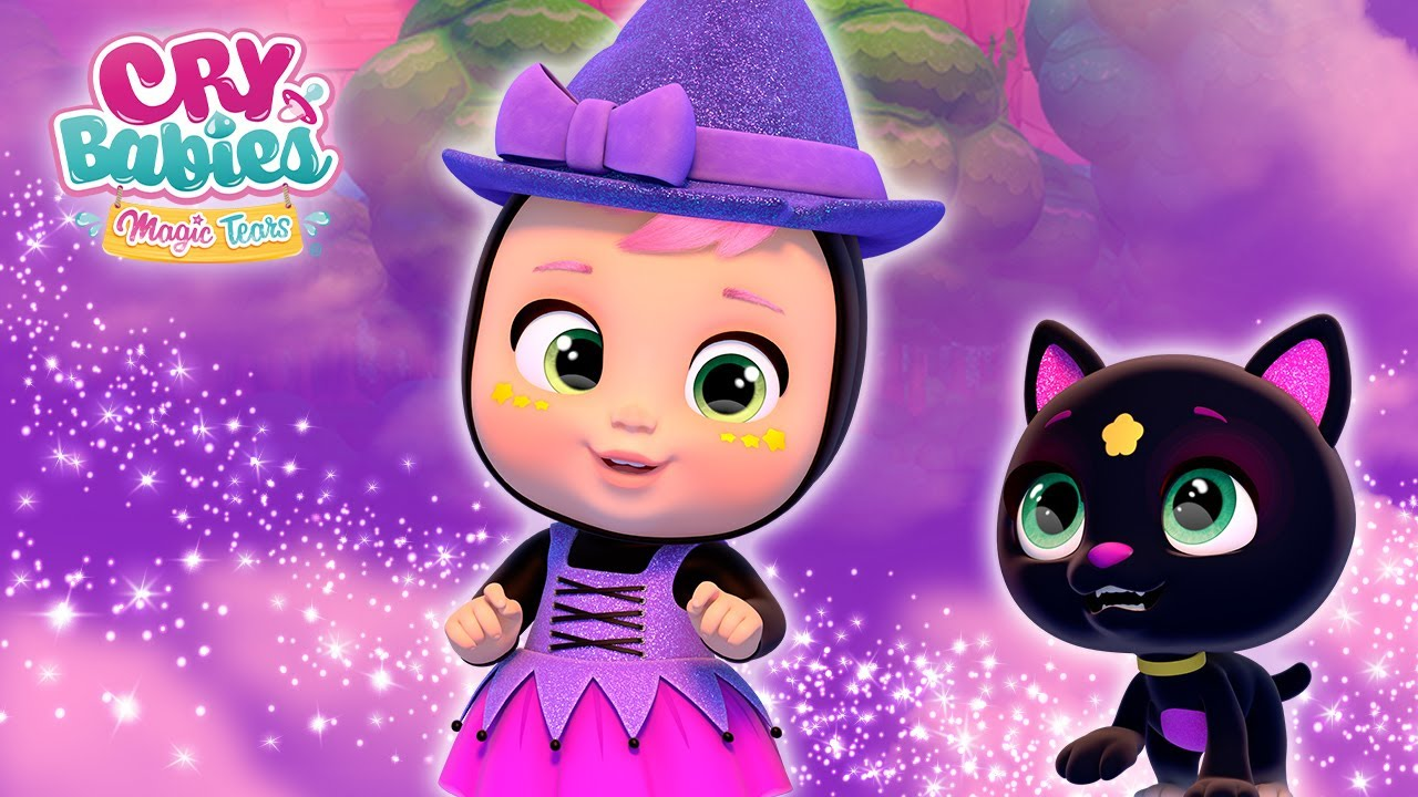✨ AGATHA, a WITCH in TROUBLE 🎃 HALLOWEEN 🎃 CRY BABIES 💧 MAGIC TEARS 💕 CARTOONS for KIDS in ENGLISH