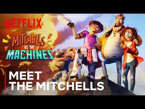 Meet the Mitchells 👨👩👧👦🐶 The Mitchells vs. The Machines   Netflix Futures