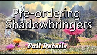FFXIV: Shadowbringers Pre-order Details