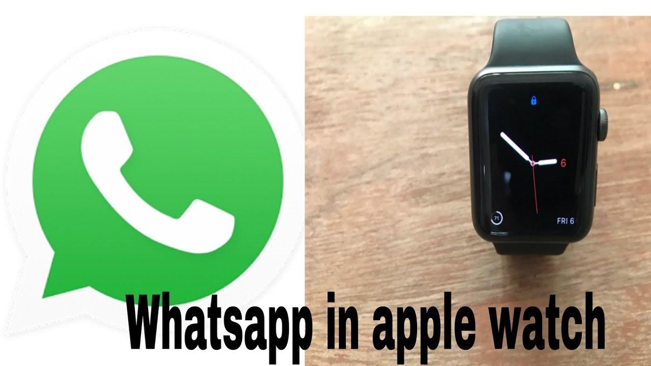 cara install whatsapp di apple watch