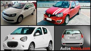 Os carros mais baratos do Brasil