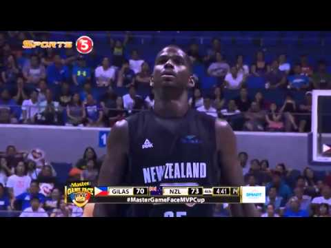 Gilas Pilipinas vs. New Zealand Q4 | MVP CUP 2015