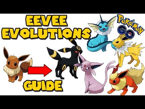 All Eevee Evolutions Pokemon Go GEN 2