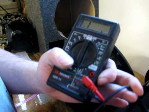 How To: Wire 2 dual 4 OHM subs to 1 OHM - YouTube