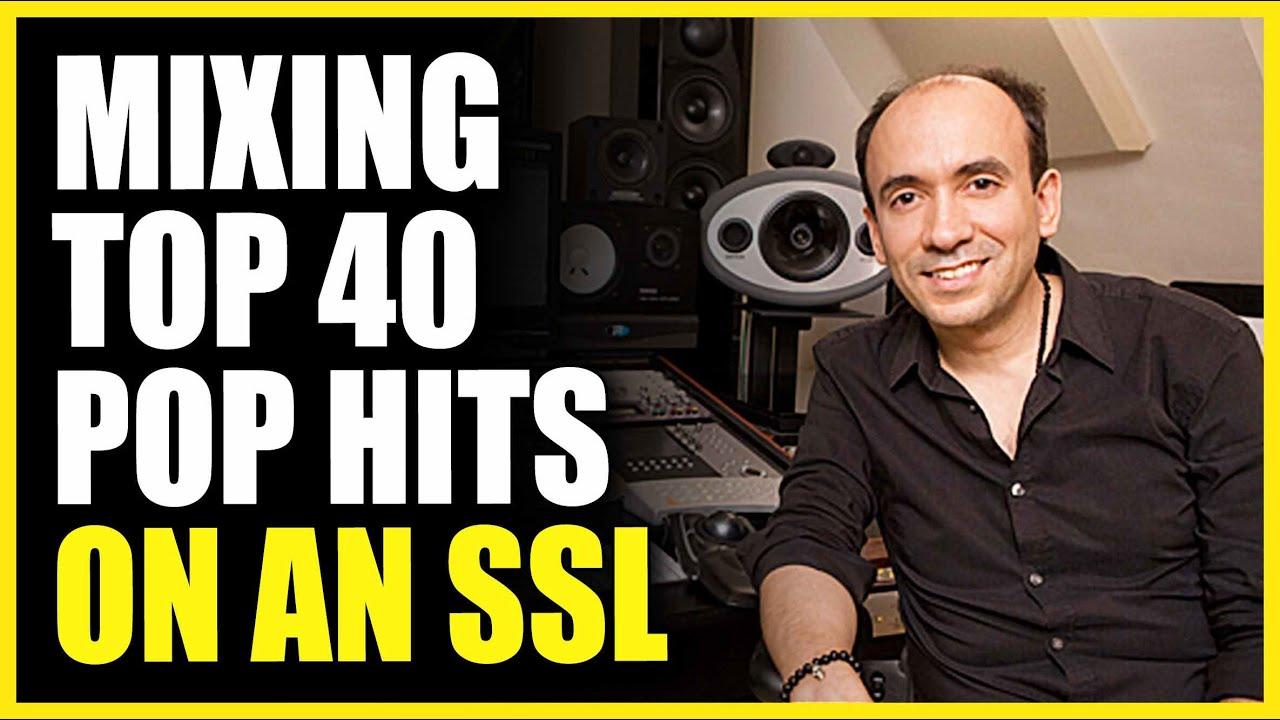 Mixing Top 40 Pop Hits On An SSL - George Seara (Drake, Rihanna, Shawn Mendes)