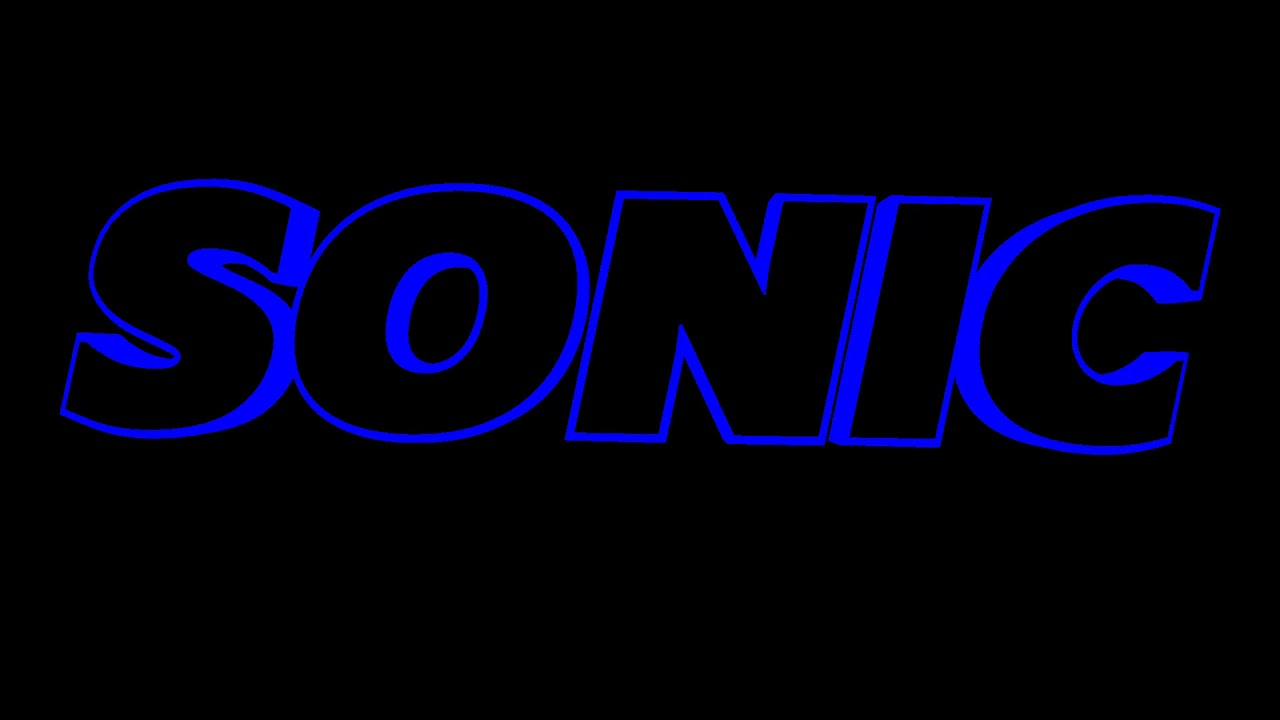 Sonic The Hedgehog Movie Trailer Logo Remake Youtube