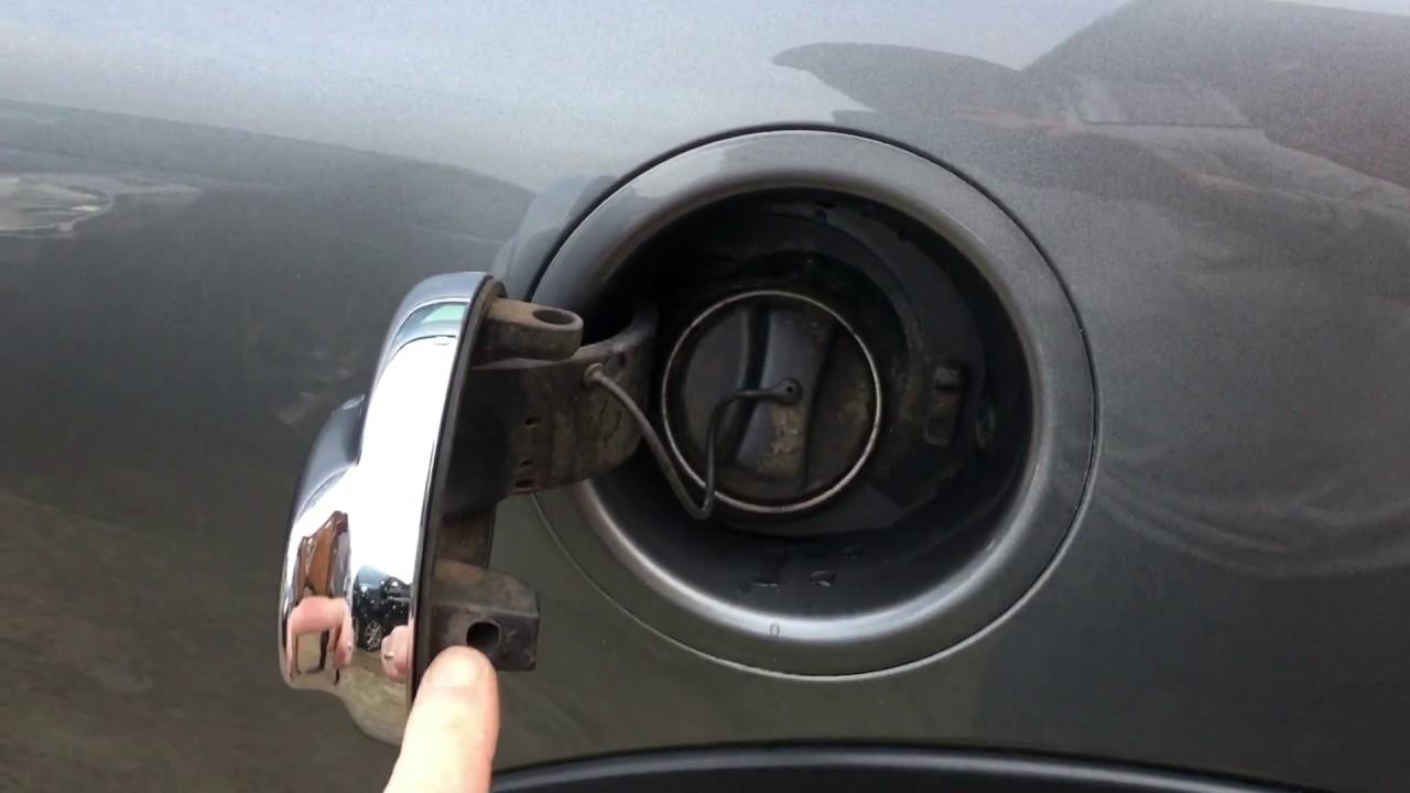 Mini Fuel Cap Manual Release