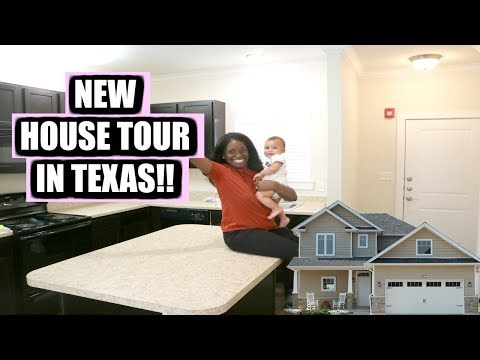 EMPTY HOUSE TOUR!! | Our First Home In Texas | The Life Of Chris thumbnail