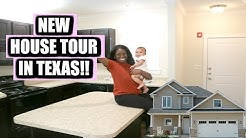 EMPTY HOUSE TOUR!! | Our First Home In Texas | The Life Of Chris