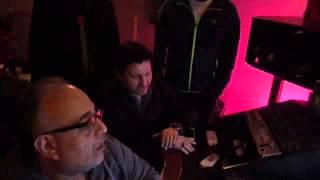 حصري ,هاني شاكر و اللمسات الاخير لألبومه الجديد 2016 من داخل الاستديو