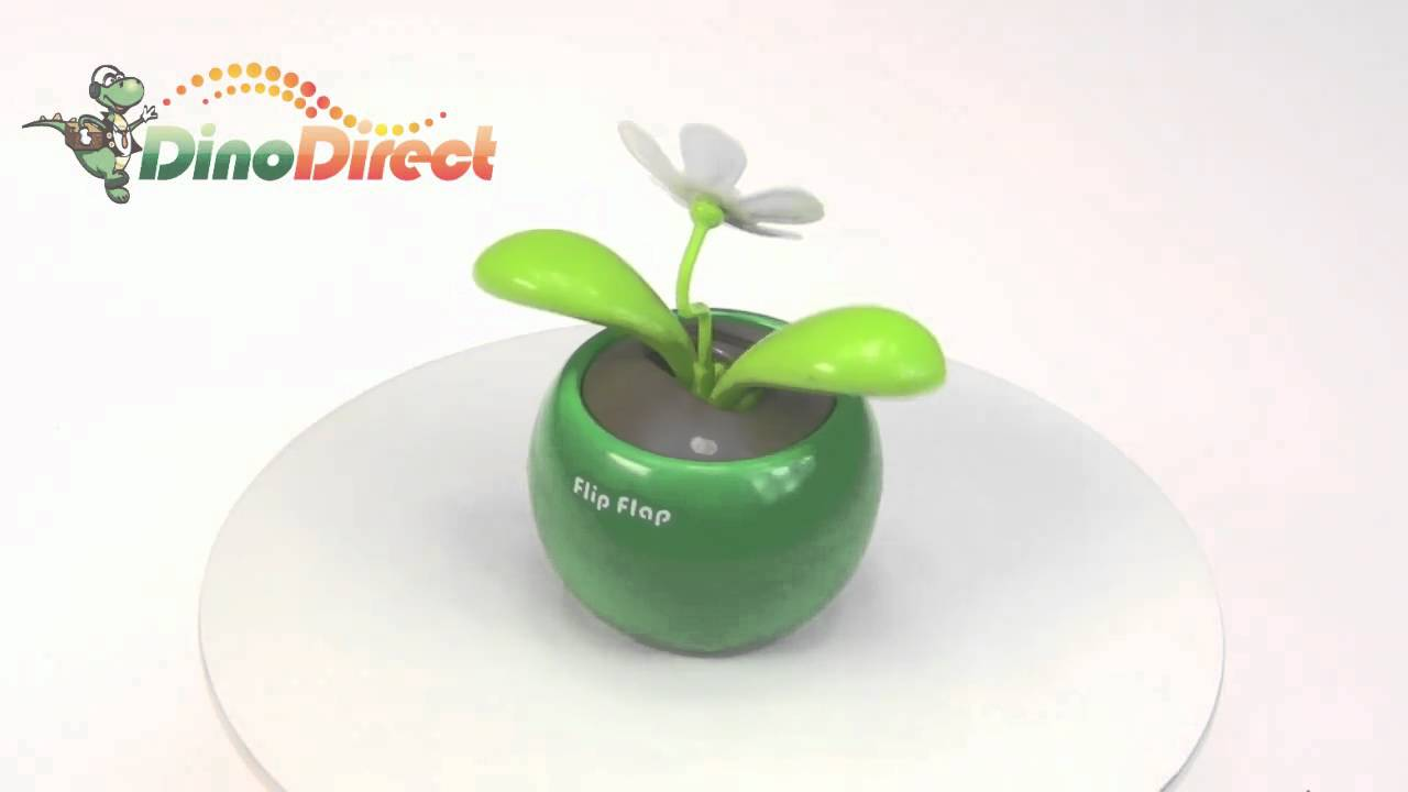 b8b88cc6993322 Magic Cute Flip Flap Swing Solar Flower Funny Toy Gift Green from  Dinodirect.com