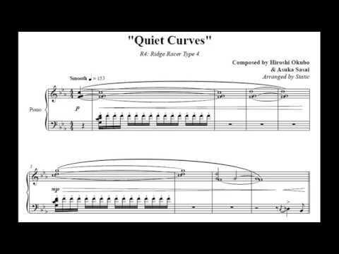 Quiet Curves - R4: Ridge Racer Type 4 Piano Sheet Music