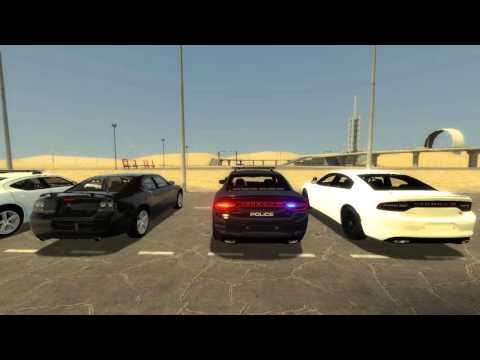 GMPD: Dodge Charger Patrol Car Show (NUCLEAR!)