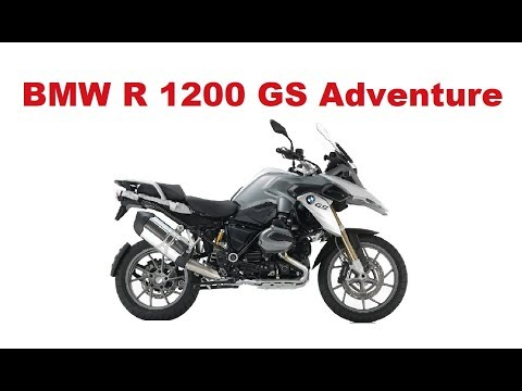 The Best Adventure Motorcycles - BMW R 1200 GS  Adventure  - Test & Review