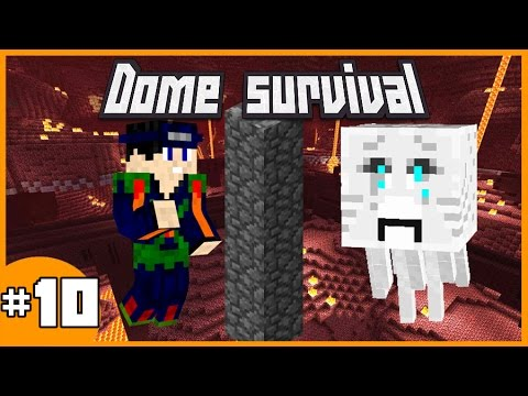 GHAST PROOF? - Dome Survival