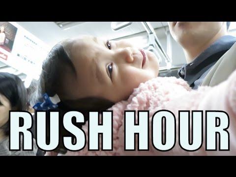 RUSH HOUR in TOKYO! - November 19, 2015 -  ItsJudysLife Vlogs