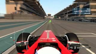 F1 2013 Prueba Jovenes Pilotos (Tutorial de inicio completo)