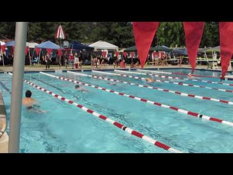 Kenneth Chen 2017游泳賽 - 個人五十碼蛙式